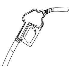 nozzle of gas icon stock vector image