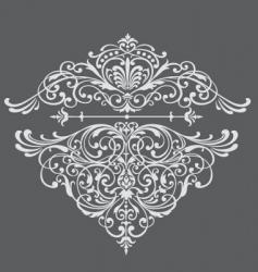 Ornate border vector