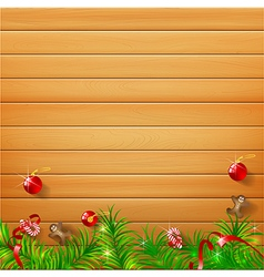 Abstract background realistic nature wood with red vector
