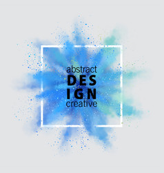 abstract banner vector image