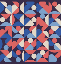 abstract geometric minimal pattern artwork poster vector image