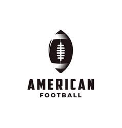 badge patch emblem american football sport logo vector image