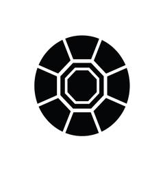 diamond black and white vector image