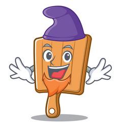 elf kitchen board character cartoon vector image vector image