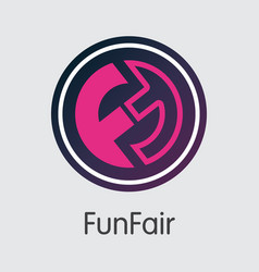 Funfair cryptographic currency fun vector