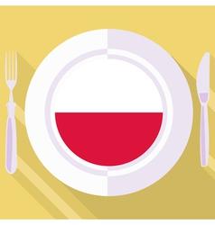 Kitchen of Poland vector