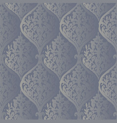 luxury old fashioned damask ornament royal vector image