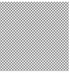 mesh ornament white seamless pattern vector image