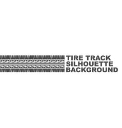new tire track logo vector image