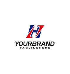 Unique logo that forms letter h matches your vector