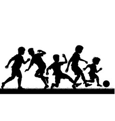 Young soccer talent vector