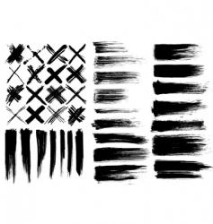 Cross marks vector