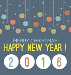 2016 Happy New Year vector