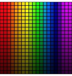 background rainbow colored mosaic vector image