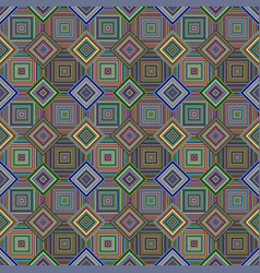 colorful seamless diagonal square pattern - tiled vector image