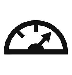 Dash board icon simple style vector