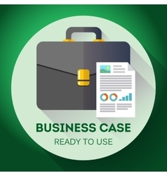 Idea - Ready to use Business case icon Flat vector