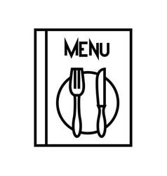 Menu list line icon concept sign outline vector