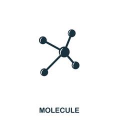molecule icon line style icon design ui vector image