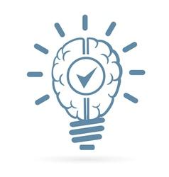 new idea web icon vector image