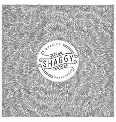 Shaggy texture vector