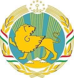 Tajikistan vector image