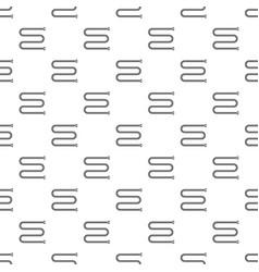 towel bath radiator pattern seamless vector image