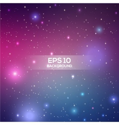 Universe space beautiful background great for your vector