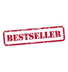 Bestseller rubber stamp vector image vector image