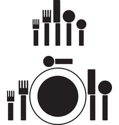 silverware pictogram vector image vector image