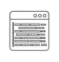 source page programming development web data vector image