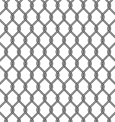 mesh fence vector image vector image