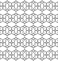 Delicate seamless pattern arabian style vector