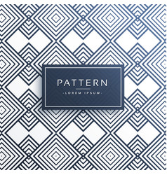 Abstract line pattern backround design vector
