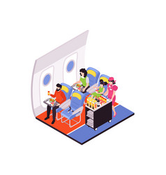 Air travel composition vector