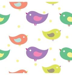 Baby birds vector image