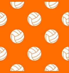 black volleyball ball pattern seamless vector image