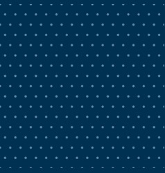 blue polka dots seamless pattern background vector image