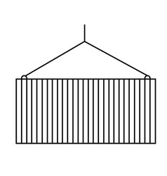 container icon vector image vector image