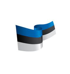 estonia flag vector image