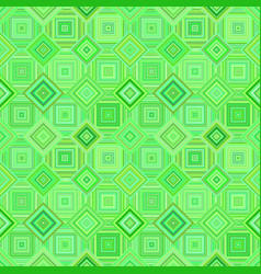 green geometrical diagonal square mosaic tile vector image