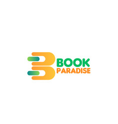 icon for book shop vector image