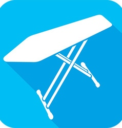 Ironing Board Icon vector image