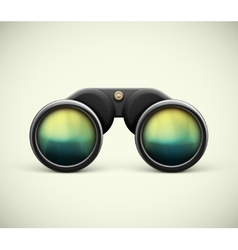 Isolated Binoculars vector
