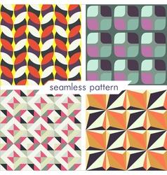 seamless pattern set 15 vector image