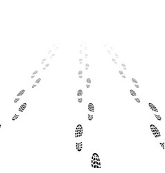 shoes silhouettes with gradient vector image