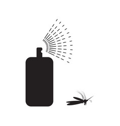 Spray aerosol icon isolated vector