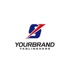 unique logo that forms letter s matches your vector image