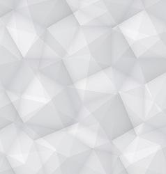 Gray Polygonal Background vector image vector image
