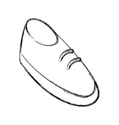 shoe cartoon isolated vector image vector image